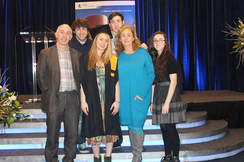 Proud day for graduation from Music & Sound Management at Colaiste Stiofán Naofa