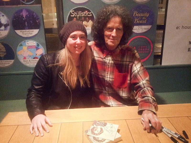 Meeting Gilbert O'Sullivan